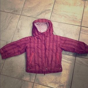 Toddler girl Columbia coat